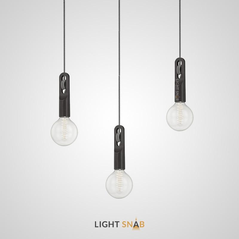Подвесной светильник Ottawa с открытой лампой