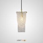 Подвесной светильник Palmira  с каскадным абажуром из хрустальных бусин