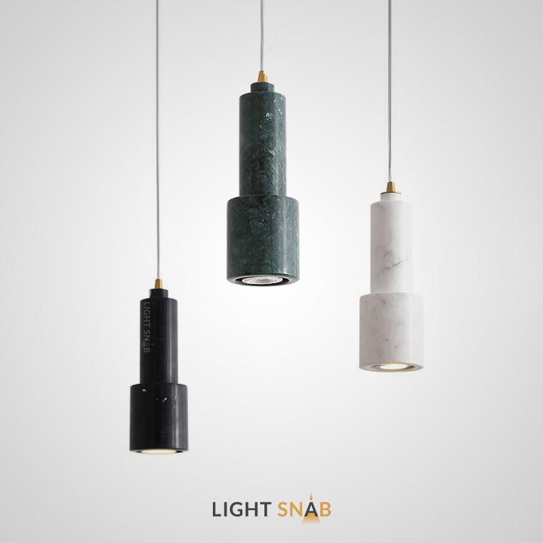 Подвесной потолочный светильник Ping из мрамора