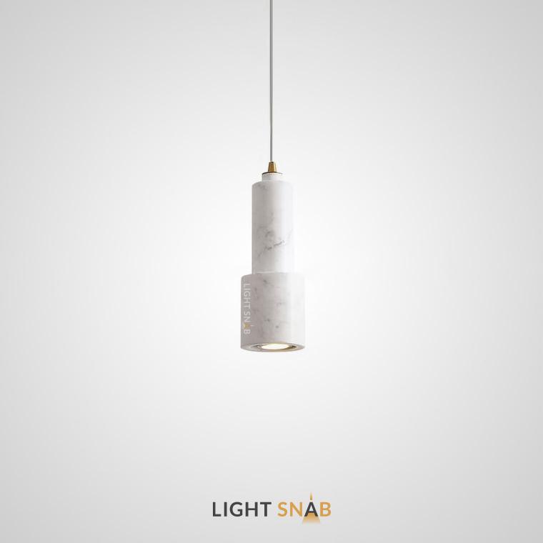 Подвесной потолочный светильник Ping цвет белый