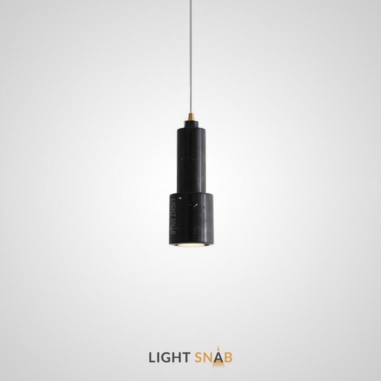 Подвесной потолочный светильник Ping цвет черный