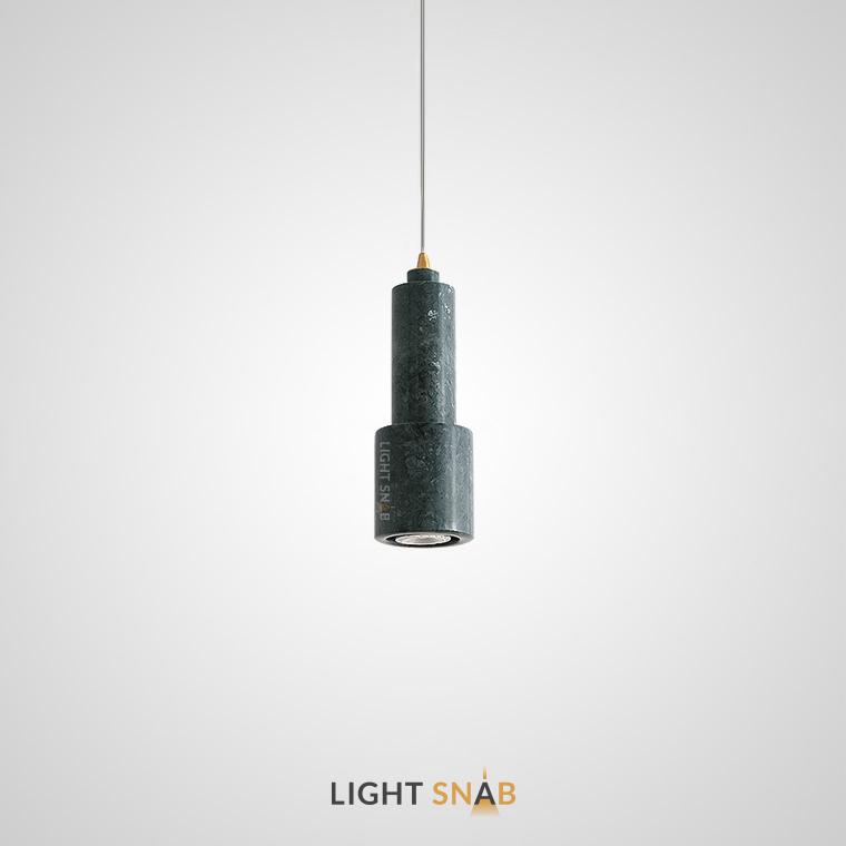 Подвесной потолочный светильник Ping цвет зеленый