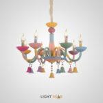 Люстра Rainbow 6 с 8 лампами