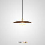 Подвесной светильник Reason размер M. Цвет темный орех