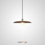 Подвесной светильник Reason размер S. Цвет темный орех