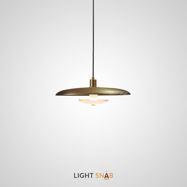 Подвесной светильник Reason размер M. Цвет латунь