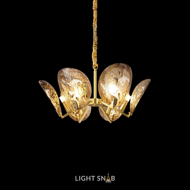 Дизайнерская люстра Riffle 6 ламп