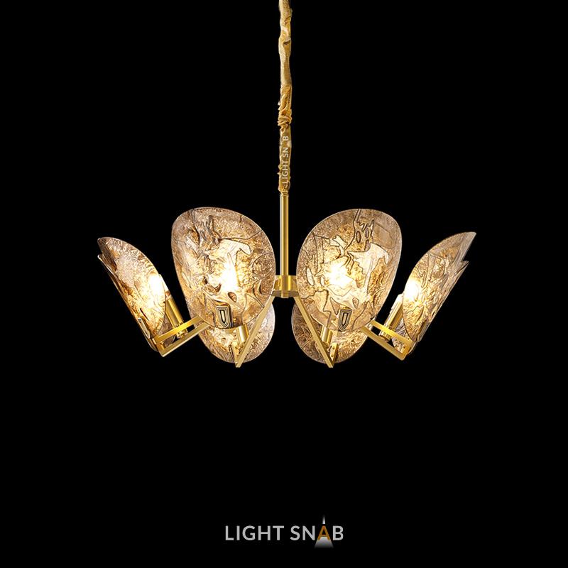 Дизайнерская люстра Riffle 8 ламп