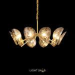 Дизайнерская люстра Riffle 10 ламп