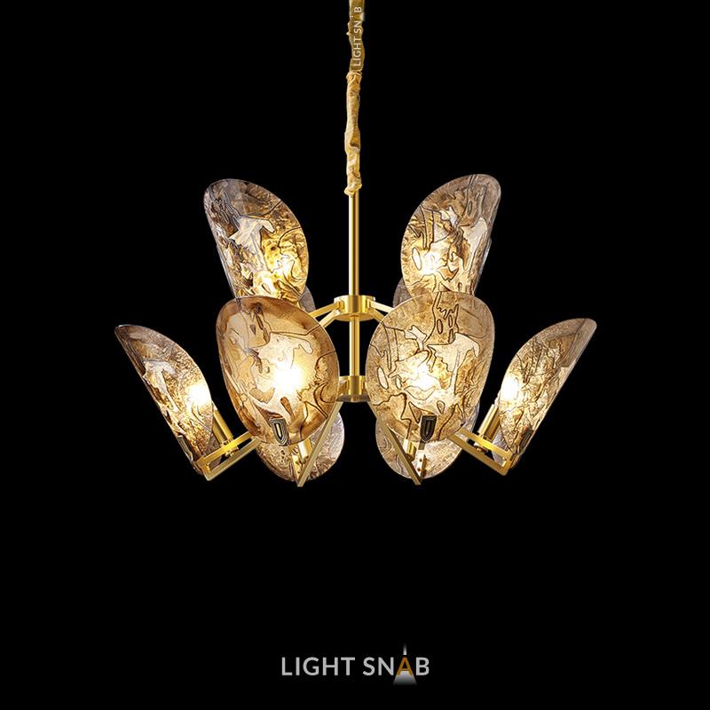 Дизайнерская люстра Riffle 12 ламп