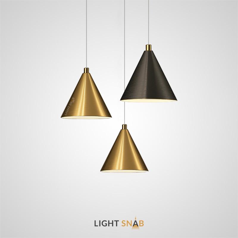 Подвесной светильник Rigel c конусообразным плафоном из металла