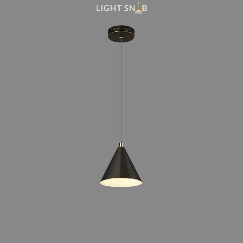Подвесной светильник Rigel цвет черный