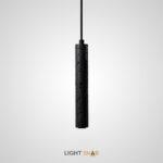 Подвесной светильник Rogerd Leng камень цвет черный