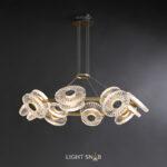 Светодиодная люстра Rosemary 16 ламп