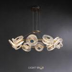 Светодиодная люстра Rosemary 20 ламп