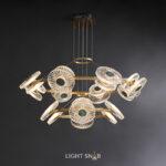 Светодиодная люстра Rosemary 24 лампы