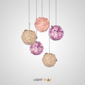 Подвесной светодиодный светильник Roslyn Color