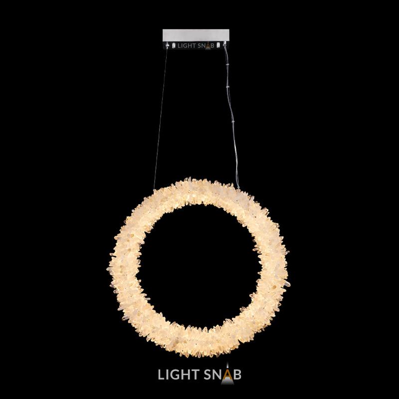 Подвесной светодиодный светильник Roslyn Ring размер M