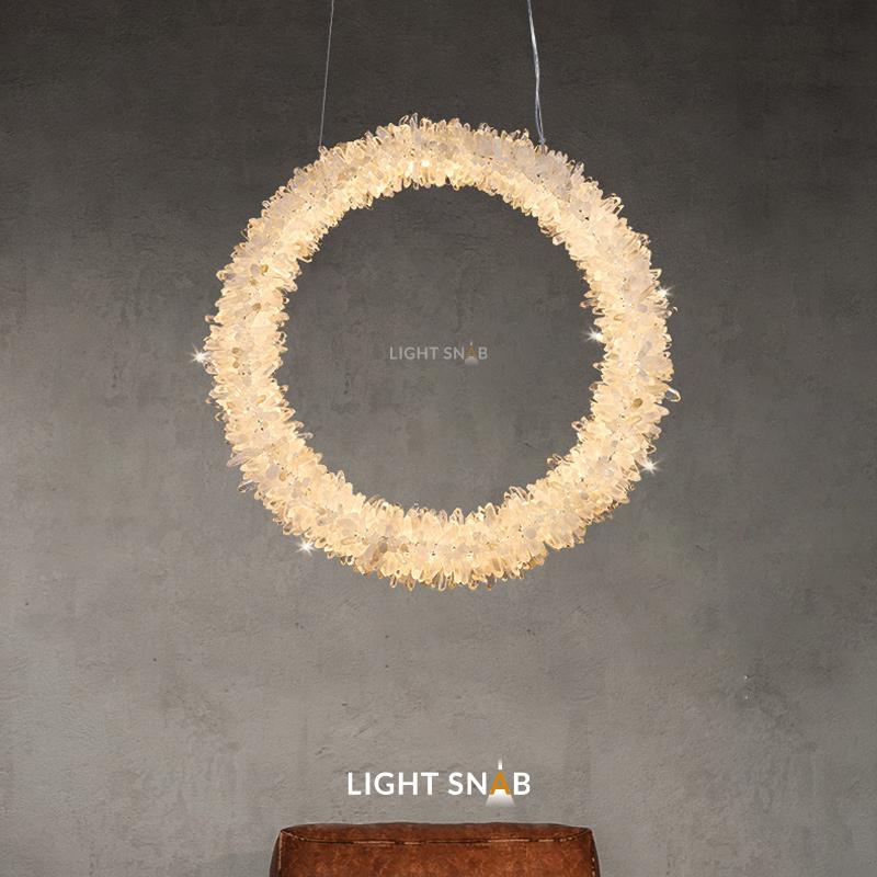 Подвесной светодиодный светильник Roslyn Ring размер XL