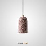 Подвесной светильник Runel цвет розовый