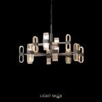 Светодиодная люстра Sense 12 ламп. Цвет черный