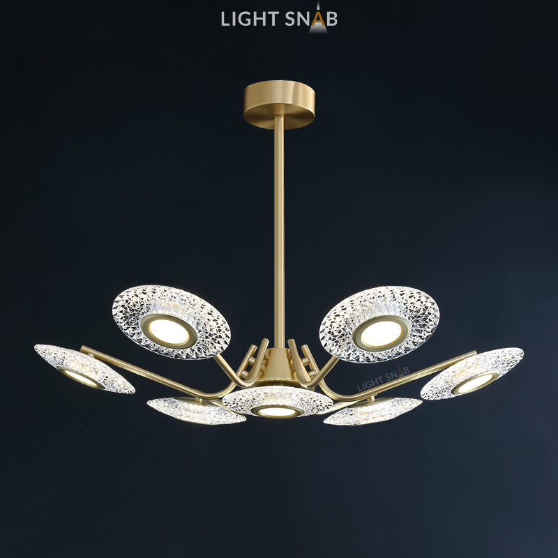 Светодиодная люстра Sevalda Ch 7 ламп
