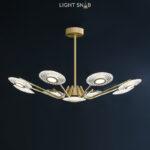 Светодиодная люстра Sevalda Ch 9 ламп