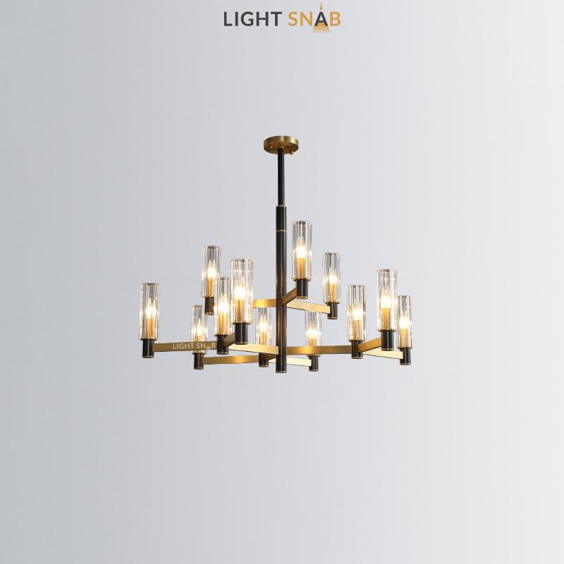 Люстра Sidonia 3 + 9 ламп