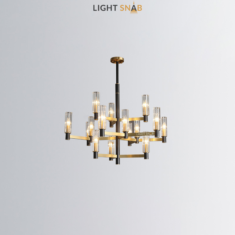 Люстра Sidonia 3 + 6 + 3 лампы