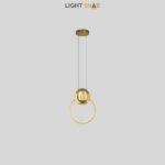 Дизайнерский подвесной светильник Sight цвет латунь