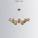 Люстра Silvana Ring 10 ламп