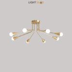 Дизайнерская люстра Single 8 ламп