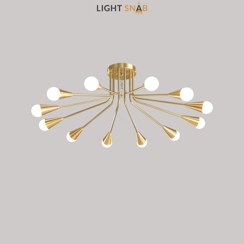 Дизайнерская люстра Single 12 ламп