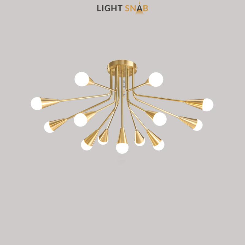 Дизайнерская люстра Single 13 ламп