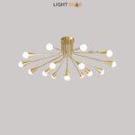 Дизайнерская люстра Single 16 ламп