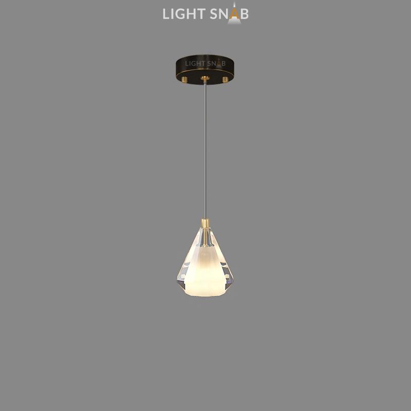 Подвесной светильник Soldis цвет черный