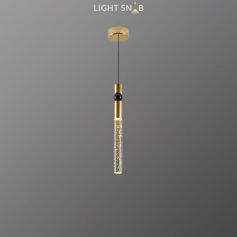 Подвесной светильник Spree цвет латунь + золото + черный
