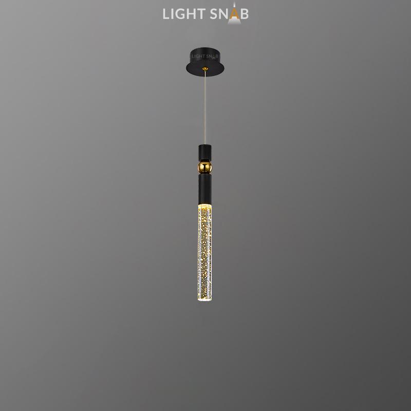 Подвесной светильник Spree цвет черный + золото