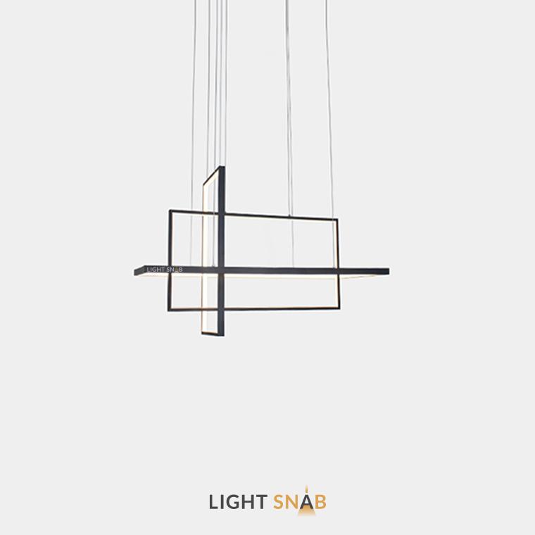 Светодиодный светильник Tilan размер M цвет черный