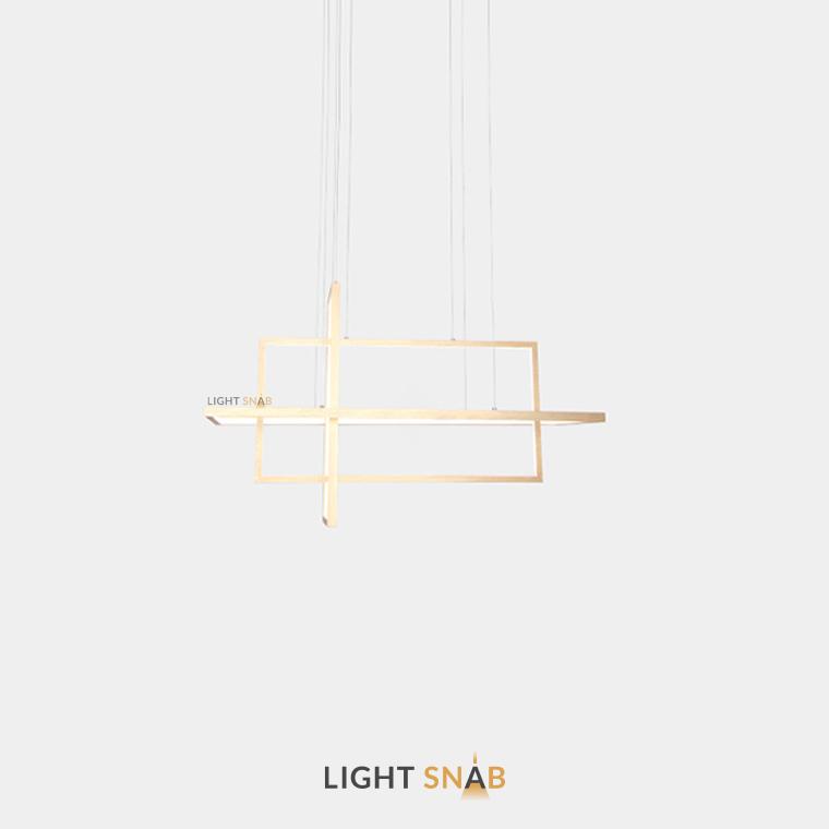 Светодиодный светильник Tilan размер M цвет золото