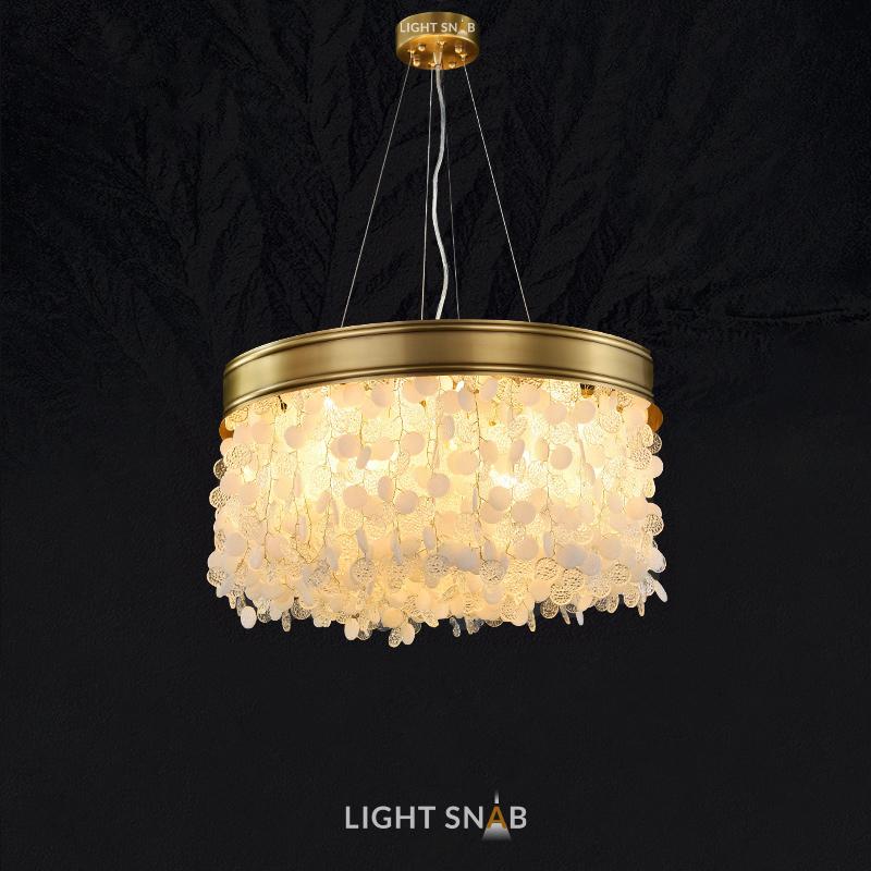 Дизайнерская люстра Verona 16 ламп. Тип B
