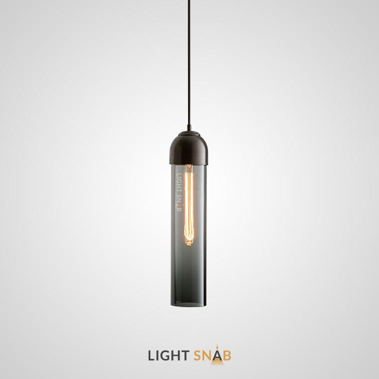 Подвесной светильник Vian B цвет дымчатый