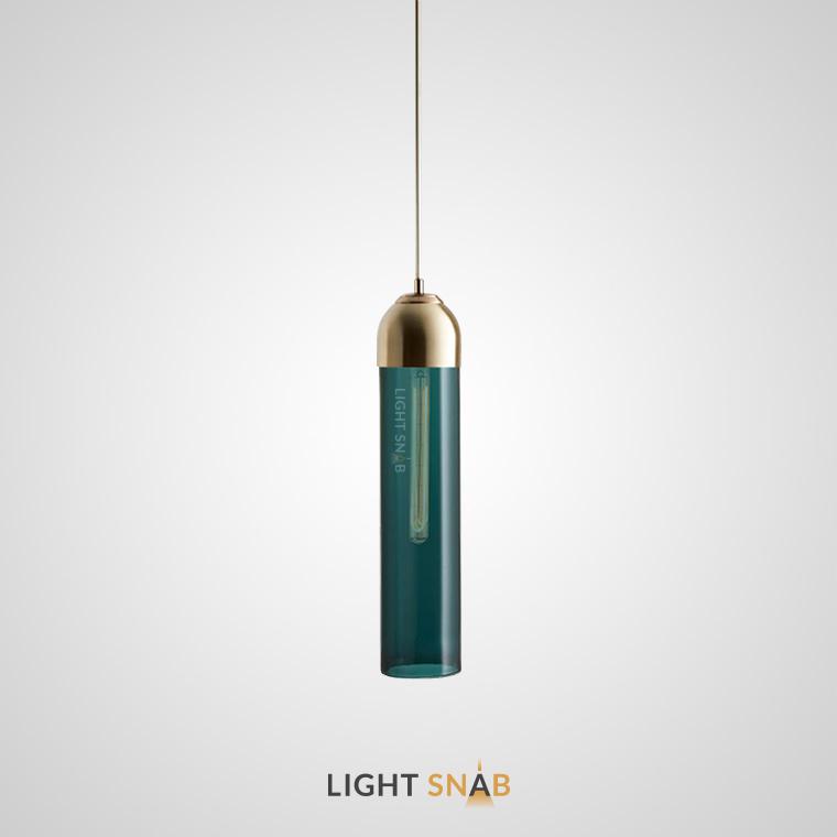 Подвесной светильник Vian B цвет зеленый