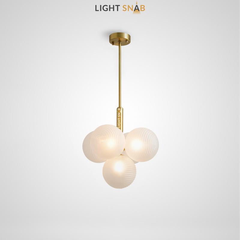 Потолочный светильник Walton More 5 ламп. Цвет белый