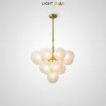 Потолочный светильник Walton More 13 ламп. Цвет белый