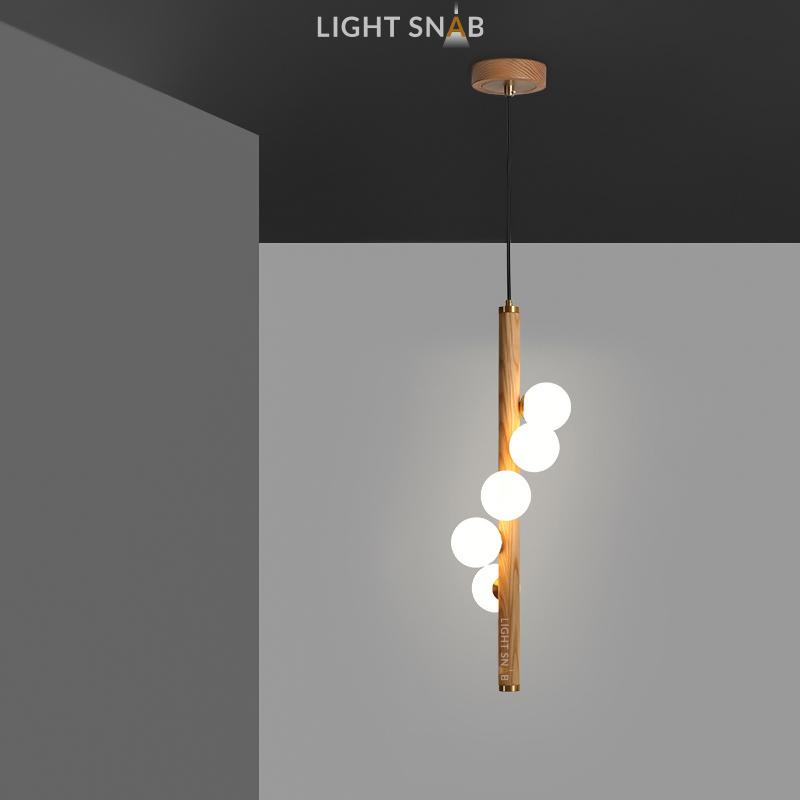 Подвесной светильник West светлое дерево