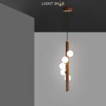 Подвесной светильник West темное дерево